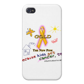 Kids Get Cancer, Too! iPhone 4 Covers