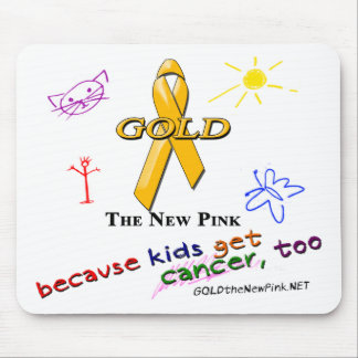 Kids Get Cancer, Too! Mouse Mat