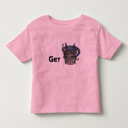 "Kid's ""Get Kraken"" Ringer T Toddler T-Shirt"