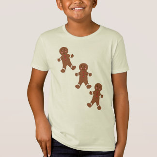 Kid's Gingerbread Christmas Cookies T-Shirt