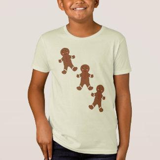 Kid's Gingerbread Christmas Cookies T-Shirt
