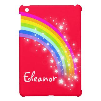 Kids girls named colorful rainbow red ipad mini iPad mini covers