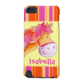 Kids girls named pony yellow ipod case