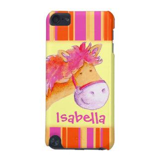 Kids girls named pony yellow ipod case