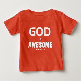 Kids GOD is AWESOME Tee - Nehemiah 1:5