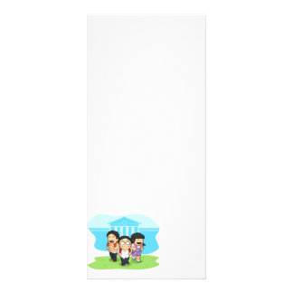 Kids Going Back to School Personalized Rack Card