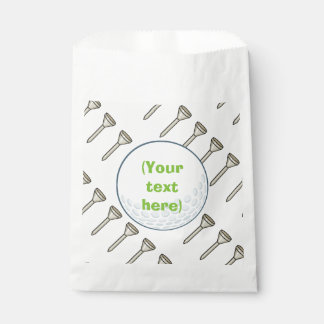 Kids Golf Theme Birthday Party Personalized Favour Bags