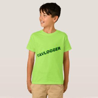 kids green tavlogger t-shirt