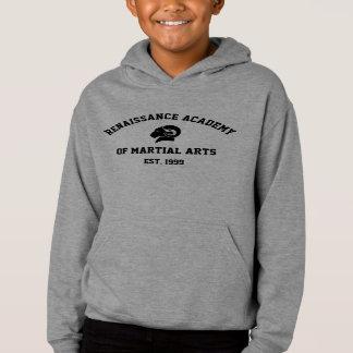 Kids' Grey Retro RAM Hoodie