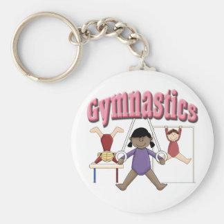 Kids Gymnastics Gift Key Chains