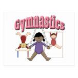 Kids Gymnastics Gift Postcards
