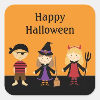 Kids Halloween Party Costume Favor Stickers