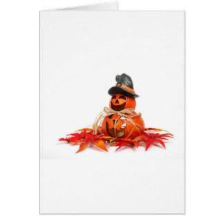 Kids Halloween Pumkins Greeting Card