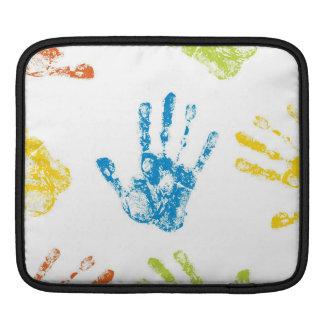 Kids Handprints Sleeve For iPads