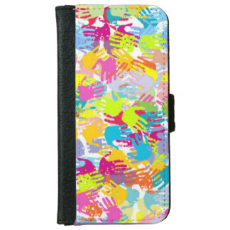 Kids Hands iPhone 6 Wallet Case