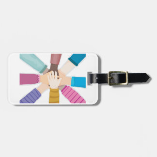 Kids Hands Luggage Tags