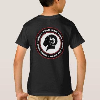 Kids' Hanes Classic Black RAM T-Shirt