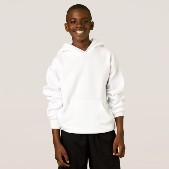 Hanes ComfortBlend® Hoodie, White