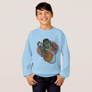 Kids' Hanes ComfortBlend® Sweatshirt, Light Blue Sweatshirt