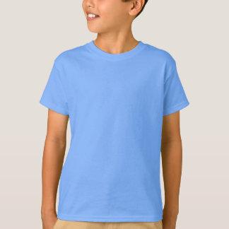 Kids' Hanes Poly-Cotton Blend T-Shirt BLUE CAROLIN