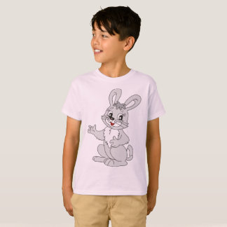 Kids' Hanes TAGLESS T-Shirt boy rabbit