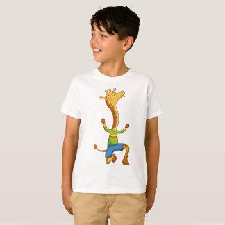 Kids' Hanes TAGLESS® T-Shirt  giraffe Boy