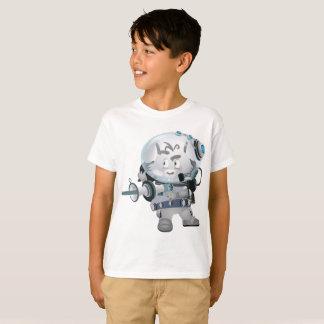Kids' Hanes TAGLESS® T-Shirt  warrior Galaxy Rat