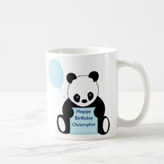Kids happy birthday personalised name mug