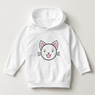 Kids Happy Cartoon Smiling Cat Sweater