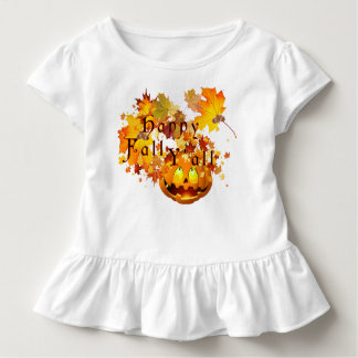 Kids Happy Fall Y'all Toddler T-Shirt