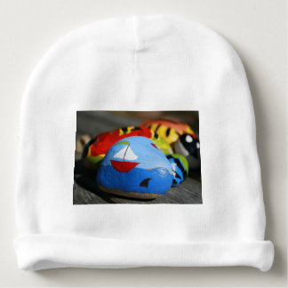 Kids Hat - Painted Sailor Picture Baby Beanie