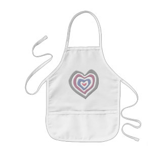 Kids Heart T Shirts and Kids Heart Gifts Kids Apron