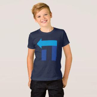 Kid's Hillary Hey T Shirt - Blue