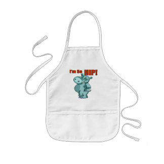 Kids HippopotamusT Shirts and Gifts Apron