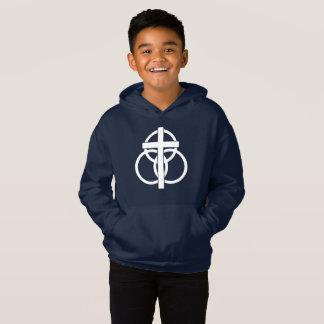Kid's Hoodie: Modern Logo