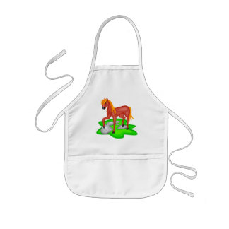 Kids Horse T-Shirts and Horse Gifts Kids Apron