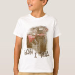 Kids How I ROLL ATV Retro Red Trike T Shirt