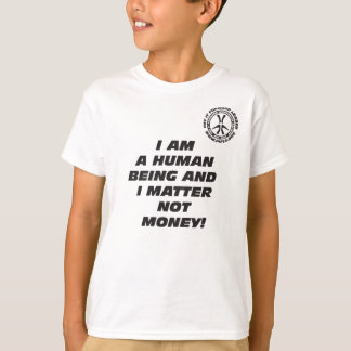 Kid's I am a Human Being T-Shirt