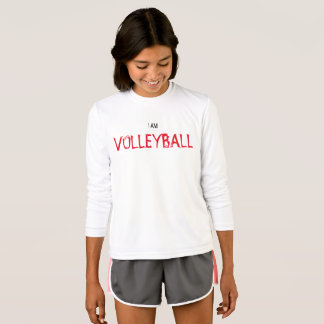 "Kids' ""I AM VOLLEYBALL"" Long Sleeve Shirt"