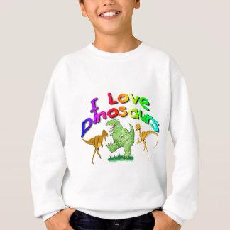 "Kids ""I Love Dinosaurs"" gifts Sweatshirt"