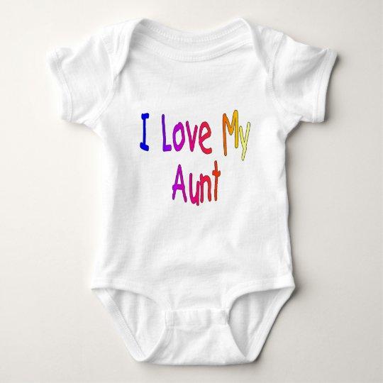 "Kids ""I love my Aunt""  Baby T-shirt"