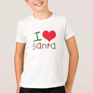 Kids I Love Santa Kids T-Shirt