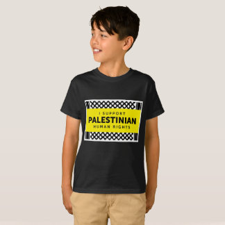 "Kids ""I Support Palestinian Rights"" T-shirt"