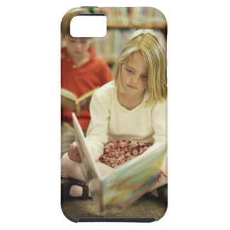 Kids in a library case for the iPhone 5