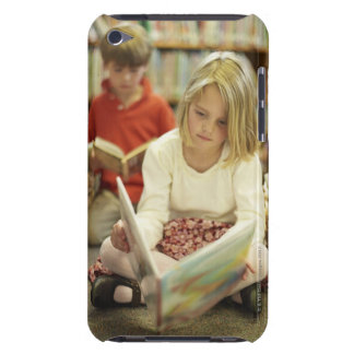 Kids in a library iPod touch Case-Mate case