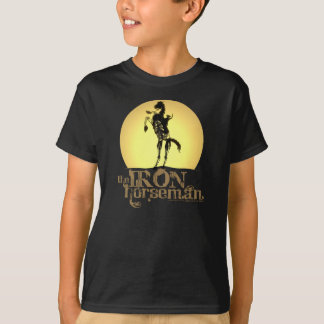 Kids Iron Horseman Shirt - Black