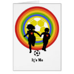 Kids, it's me, soccer fans and player card