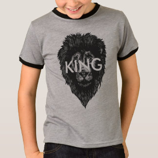 Kids KING Lion Ringer Tee