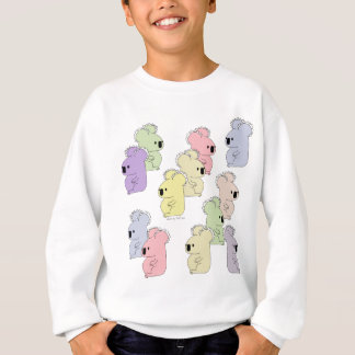 kid's koala multi sweatshirt