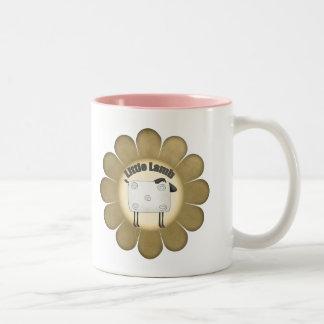 Kids Lamb T Shirts and Gifts Two-Tone Coffee Mug
